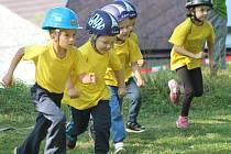 Dětská hasičská soutěž v Žihobcích