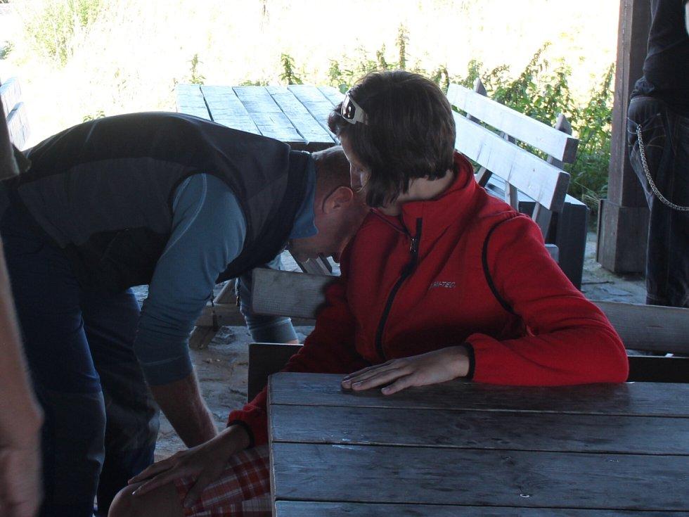 Redaktor Deníku strávil odpoledne s Horskou službou