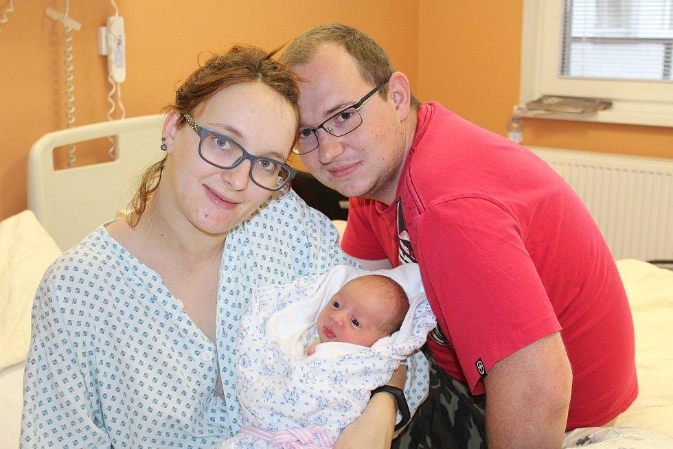 Jan Havlíček z Blížejova (3070 g, 48 cm) se narodil 18. srpna ve 13.31 hodin v klatovské porodnici. Rodiče Michaela a Jan přivítali prvorozeného očekávaného syna na světě společně.