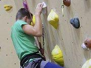 Zahájení zimní lezecké sezony v hale centra míčových sportů v Klatovech