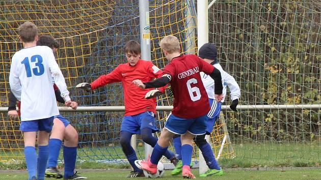 Fotbal, krajský přebor starších žáků: Nýrsko - Nepomuk