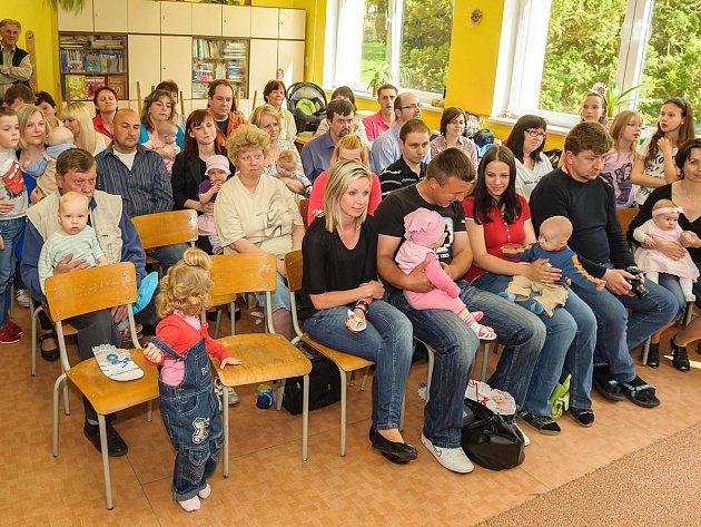 Nové občánky přivítali do života v Bolešinech