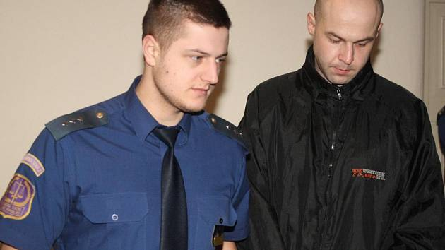Petr Vojtěch u klatovského soudu