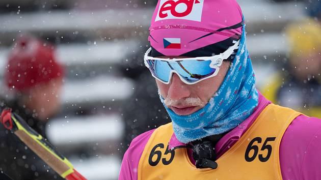 JAN ŠRAIL (na archivním snímku) byl po závodě v rakouském Seefeldu smutný. Skončil až na 39. místě.