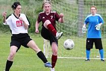 6. kolo letní Dívčí amatérské fotbalové ligy v Neznašovech.