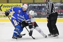 2. liga 2016/2017: SHC Klatovy (bílé dresy) - HC Stadion Vrchlabí 5:6p