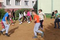 Vzdělávací tábor pionýrské skupiny Tuláci v Klatovech.
