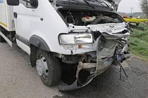Dopravní nehoda u obce Obytce