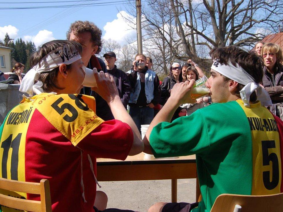Třináctý ročník Hojsoveckého pivního běhu.