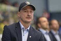 Trenér Klatov Michal Straka.