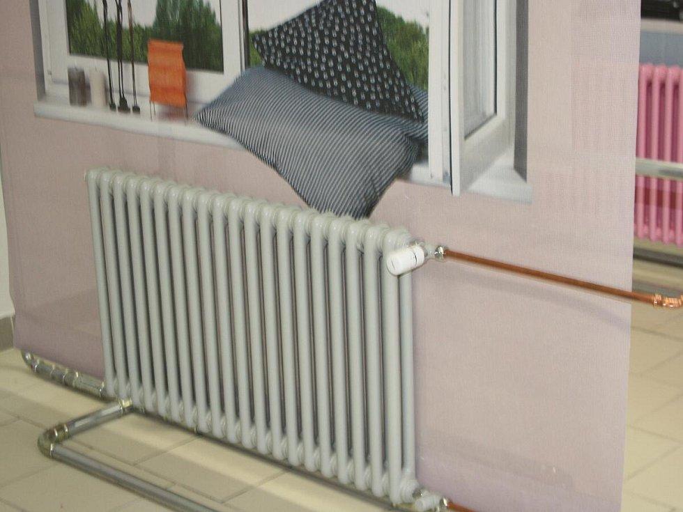 Otevření prodejny radiátorů v SOŠ a SOU Sušice