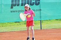 Simona Kadlecová dobře reprezentovala svůj klub LTK Klatovy na turnaji Masters.