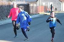 Silvestrovský běh ve Velkých Hydčicích 2016