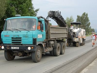 Od čtvrtka se pro řidiče zkomplikovala cesta do Plzně při průjezdu Štěpánovicemi