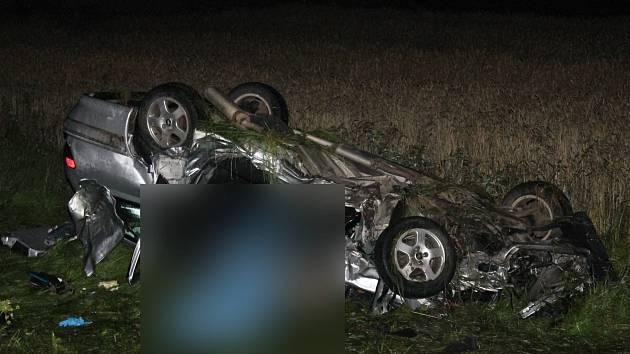 Při nehodě u Velkého Boru zemřeli dva lidé.