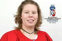Veronika Bucifalová ze Sušice reprezentovala ČR na hokejovém MS U18 2017