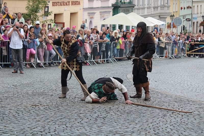 Svatováclavské oslavy v Klatovech 2021.