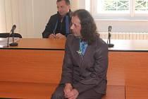 Radek Zajac u klatovského soudu