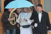 Tradiční masopust ve Sveradicích 9. 2. 2013