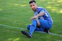 Kapitán Nýrska Tomáš György se na Rapidu zapsal také mezi střelce.