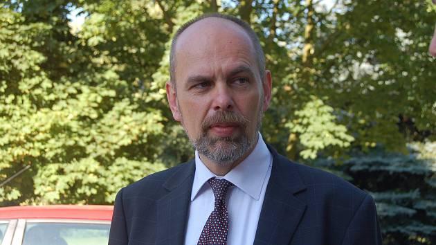 Jiří Vlček v době, kdy dělal ředitele Klatovské nemocnice.