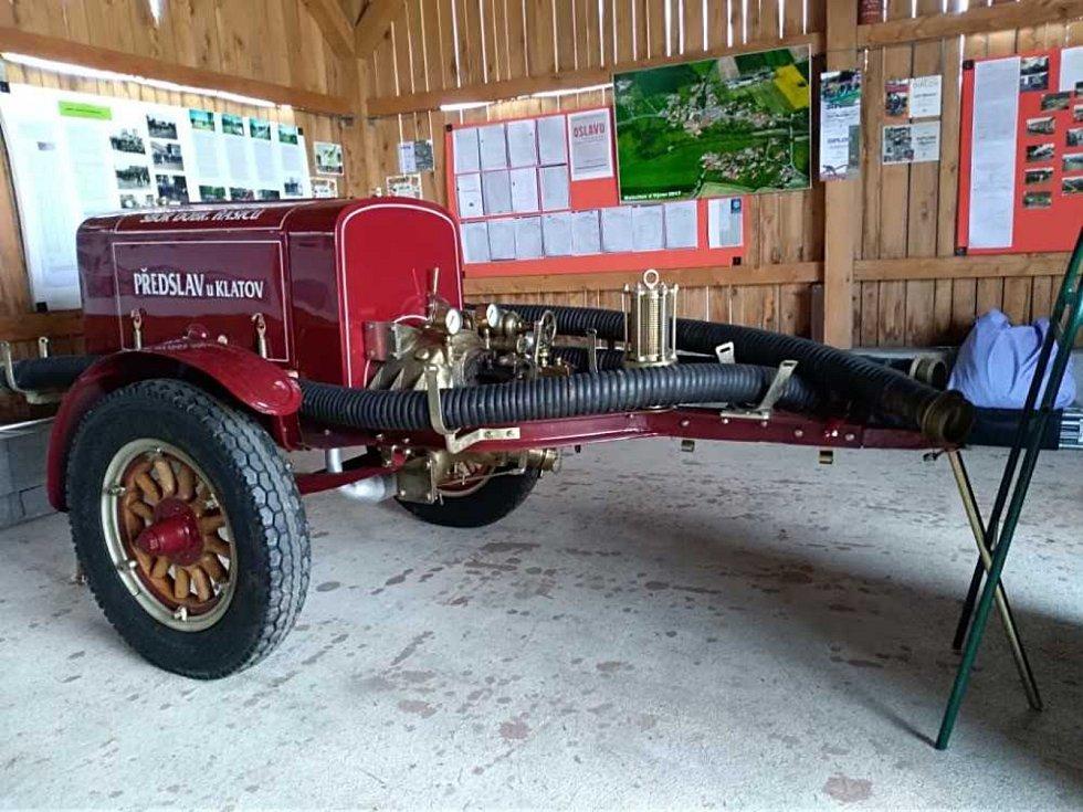Sbor dobrovolných hasičů Malechov oslavil 100 let od založení sboru.