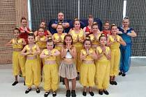 Diamond Dance Klatovy na soutěži.