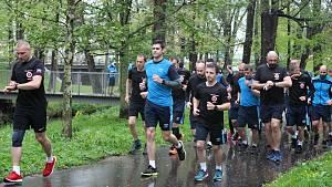 Běh vojáků za veterány