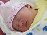 Katka Gočová z Výrova (2810 g, 48 cm) se narodila v klatovské porodnici 23. dubna v 8.08 hodin. Rodiče Jana a Roman věděli, že David (3) bude mít sestřičku. Na světě ji přivítali společně.