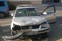 Dopravní nehoda ve Strážově