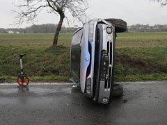 Nehoda u Velkého Boru.
