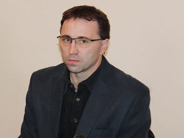 Martin Rezler u klatovského soudu.