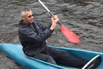 Tradiční zamykání řeky Otavy se konalo v Sušici 12. října 2013. Pro vodáky tak skončila letošní sezona