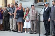 Vzpomínka na oběti okupace 21. srpna 1968 v Klatovech