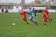 Klatovy - Strakonice 2:2 PK 3:4 (fotbal - divize U17)