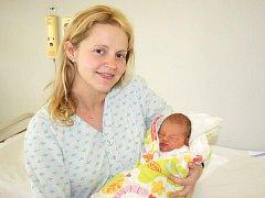 Sophia Gubricová z Malé Vísky se narodila v klatovské porodnici 16. ledna ve 14.35 hodin. Vážila 3100 gramů a měřila 49 cm. Rodiče Mirka a Martin si nebyli až do poslední chvíle jistí, jestli jejich první miminko bude holčička nebo chlapeček.