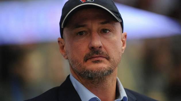 Trenér Michal Straka.