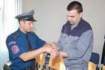 Paval Straka u klatovského soudu