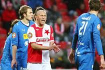 Fotbal Slavia Praha - Viktoria Plzeň 2:3
