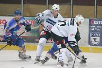 Hokej II. liga SHC Klatovy (b) - HC Klášterec n/O 2:4.