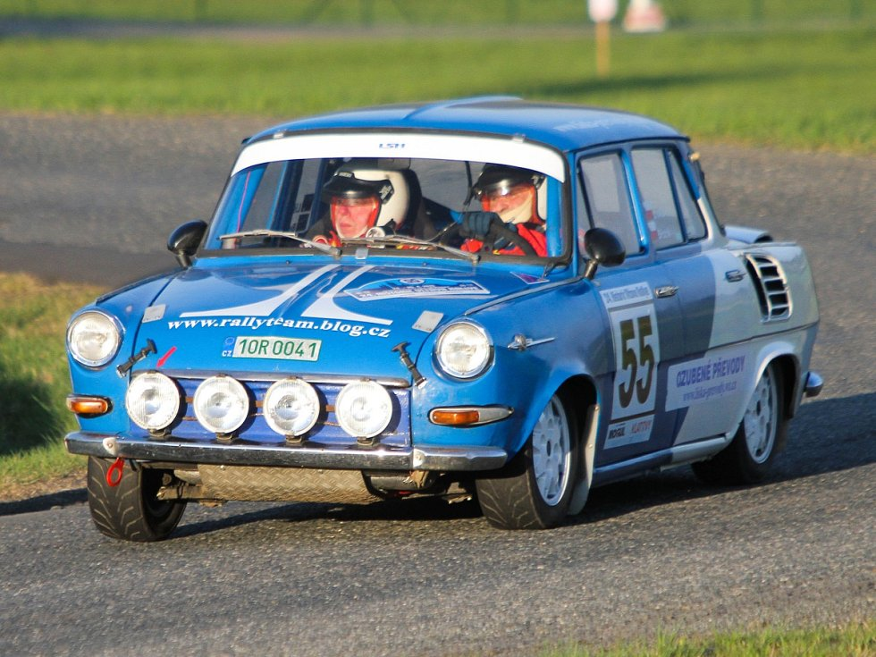 RZ 3 - 24. Historic Vltava Rallye a 50. Rallye Šumava Klatovy