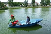 Ve Lhovicích se konala Cesta kolem pohádkového rybníka.