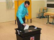 První den prezidentských voleb na Klatovsku