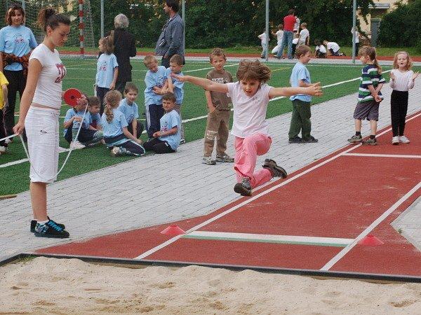 Sportovní hry mateřských škol v Klatovech