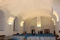 Slavnostní otevření zrekonstruovaného jezuitského refektáře v Klatovech.