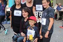 Akce Chariativní běh pro Míšu - Běžím, aby Míša mohla jít, která se konala v Klatovech.
