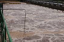 Biologická linka čistírny odpadních vod