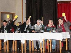 Čtvrteční zasedání horažďovického zastupitelstva