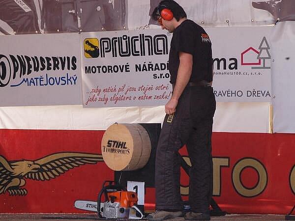 Dřevorubecká soutěž v Sušici