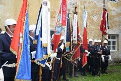 Oslavy hasičů ve Volšovech